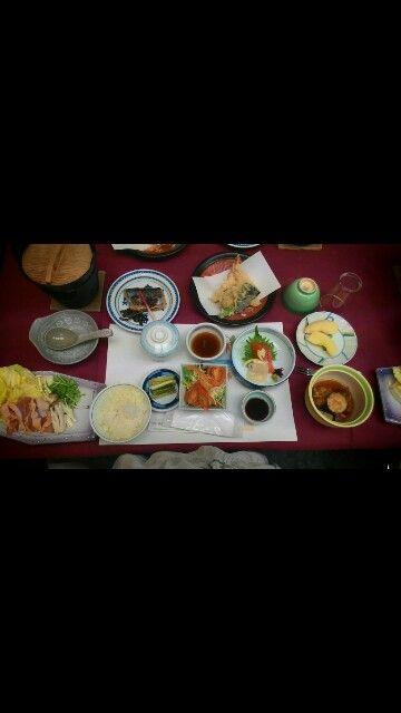 Japanese dinner.