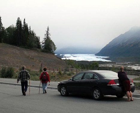 Vintage Suggested Alaska Itineraries by Alaska Pass day Anchorage AK