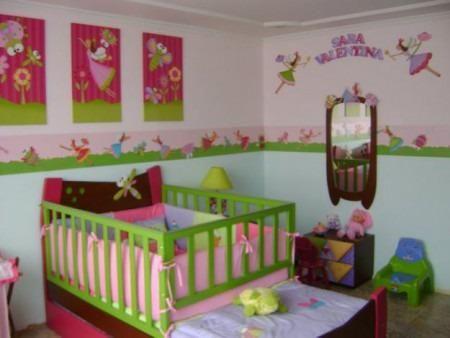 Decoracion para cuartos de bebes clasf decoracion de for Cuartos para ninas decoracion