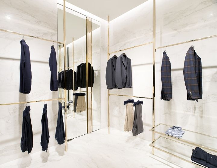 Closet Store By Meregalli Merlo Architetti Associati Singapore Retail Design Blog