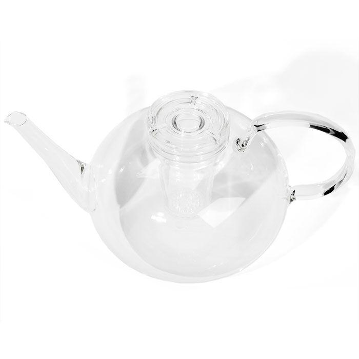 teekanne aus glas design wilhelm wagenfeld 1931 geblasenes glas 1,5 l, ø 16 cm, h 13,5 cm, 578 g 142,50 € inklusive 19% ust zzgl. versandkosten