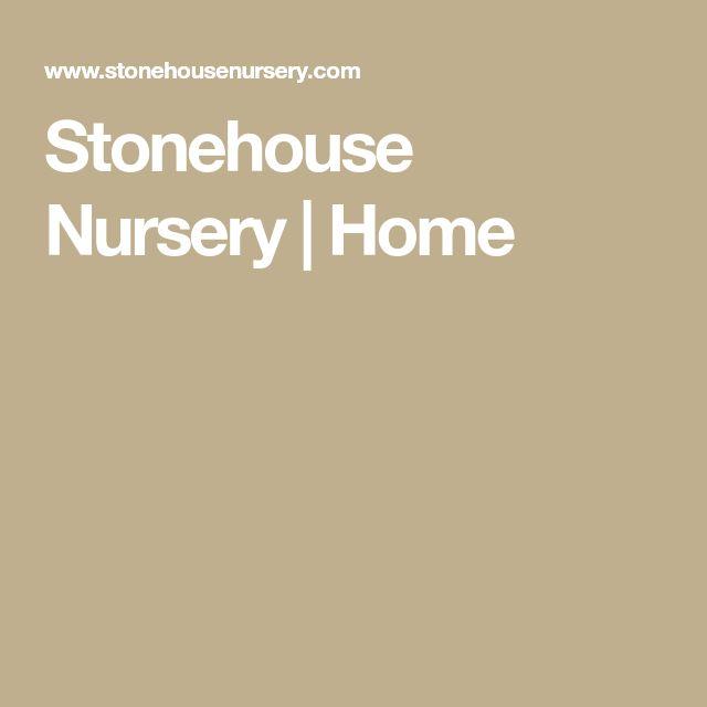 Stonehouse Nursery   Home