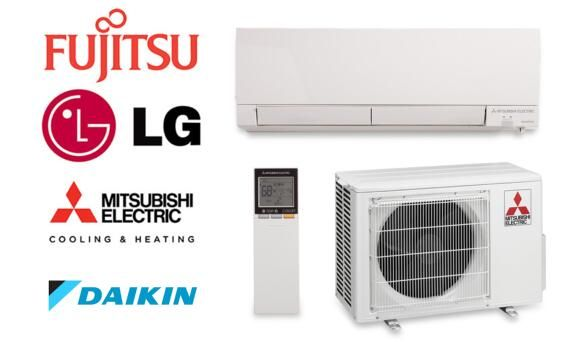 Daikin Vs Fujitsu Vs Mitsubishi Vs Lg Best Mini Split Systems Of Single Zone Mitsubishi Hvac System Air Conditioner Installation