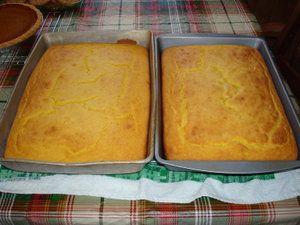 Домашний кукурузный хлеб