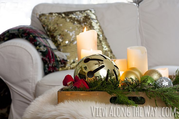 17 best images about christmas decorated coffee tables on
