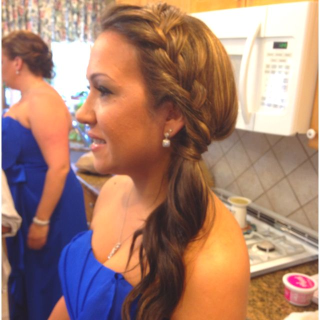 apple hair style best 25 side ponytail updo ideas on side 3428