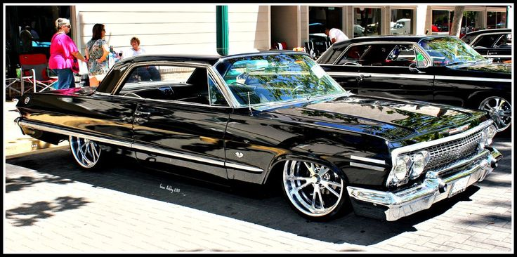 3 Black Impala's by StallionDesigns.deviantart.com on @deviantART