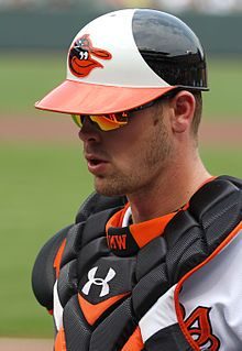 Mat Wieters- Baltimore Orioles ❤