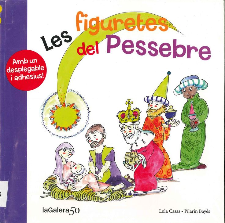 """Lola Casas / Pilarín Bayés. """"Les figuretes del Pessebre"""