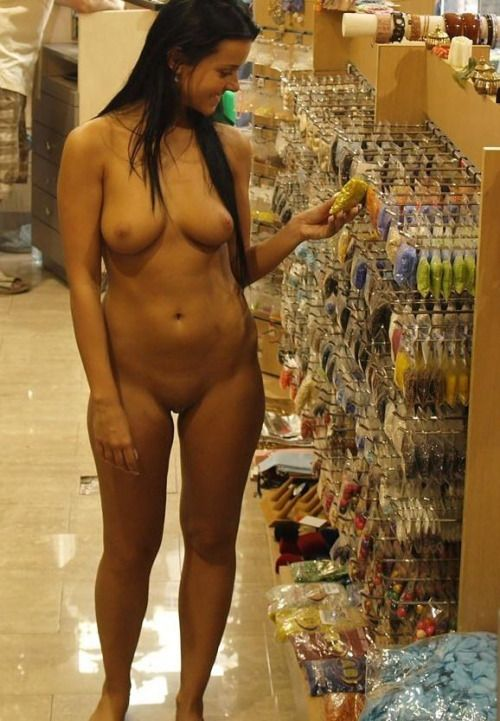 Asian naked shopping, pussy pennis photo