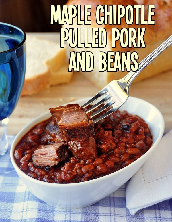 Looking for a slow cooked meal this weekend? Try our latest recipe, Maple Chipotle Pulled Pork and Beans - combines two slow cooked favorites. Bake some homemade bread too for an ultimate comfort food, cold weather supper that your family and friends will love.