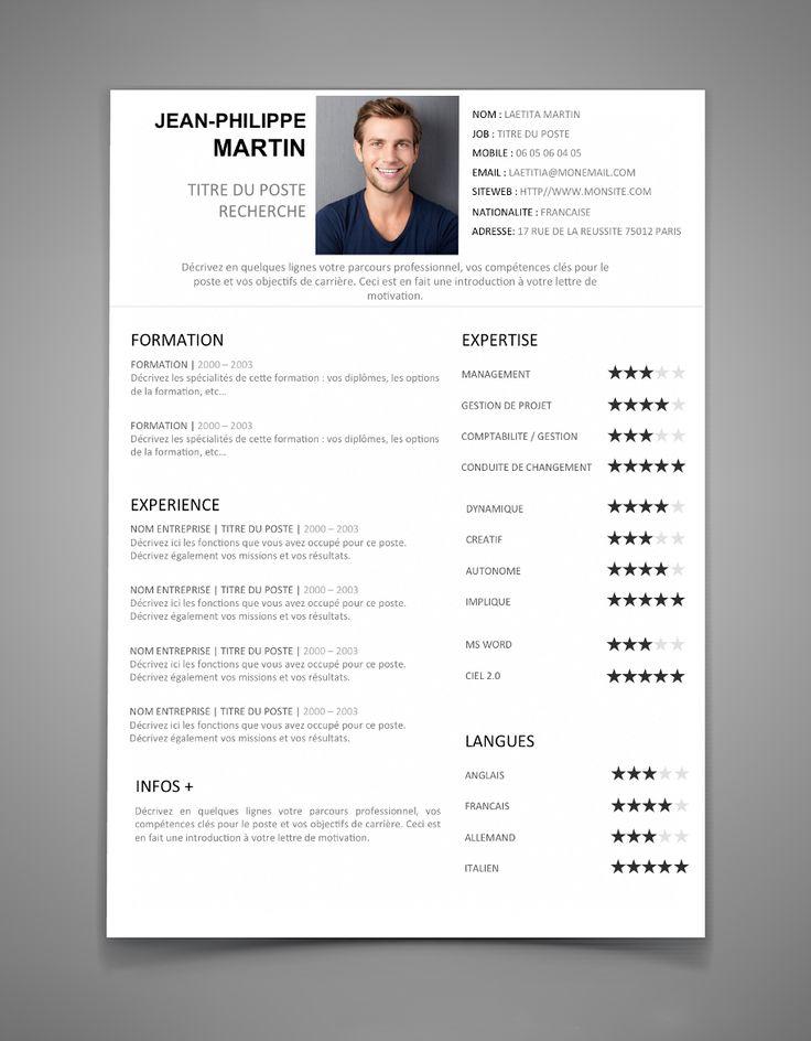 10 best cv images on Pinterest Resume, Tea length and Creative - cv resume
