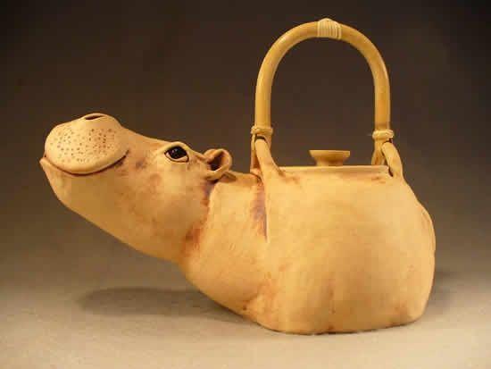 Потрясающие керамические чайники — Christy Crews Dunn - Ярмарка Мастеров - ручная работа, handmade