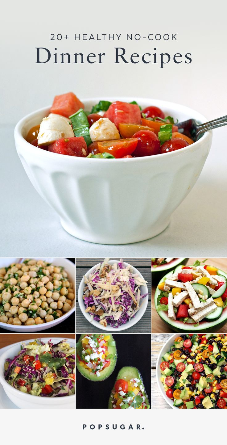 Healthy Cookout Recipes: 25 No-Cook Dinner Recipes When Nights Are Hot And You Need
