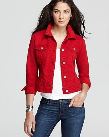 17 best ideas about Red Jackets on Pinterest | Older women fashion ...