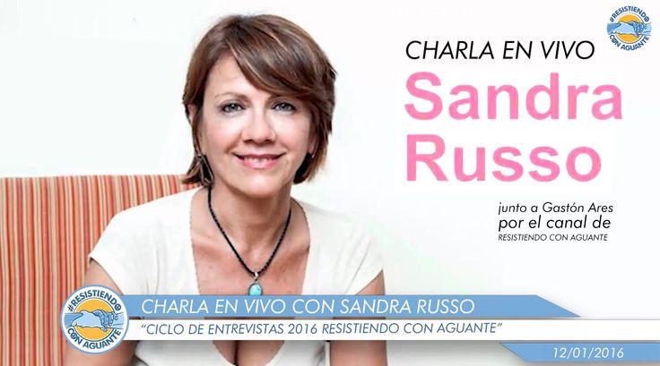 Charla en Vivo junto a Sandra Russo - Resistiendo con Aguante