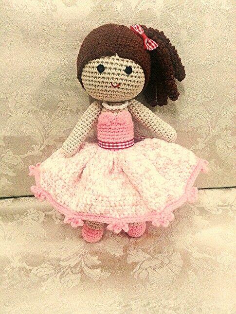Crochet doll *Sher min*