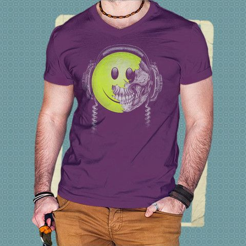 Artwork Tee Paint On A Smile By Studio 1
