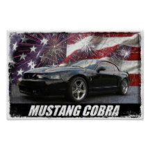 2003 Mustang Cobra Poster