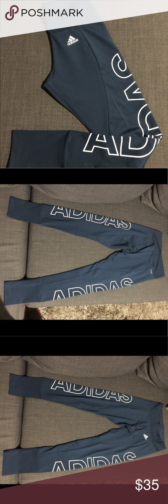 Adidas Clima Cool Leggings Never worn adidas leggings. New no tags. Perfect fit adidas Pants Leggings