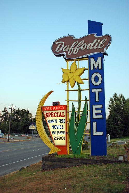 Daffodil Motel – Milton, WA – Seattle-Tacoma Area Dec 10th, 2009 by fadingad.