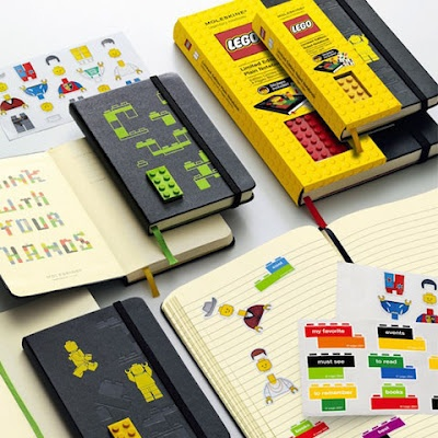 Fruitless Pursuits: Review: Lego x Moleskine