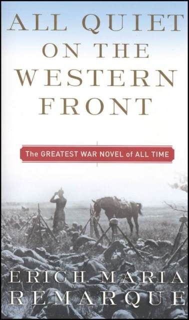 All Quiet on the Western Front, by Erich Maria Remarque.  Just started this - so good so far.