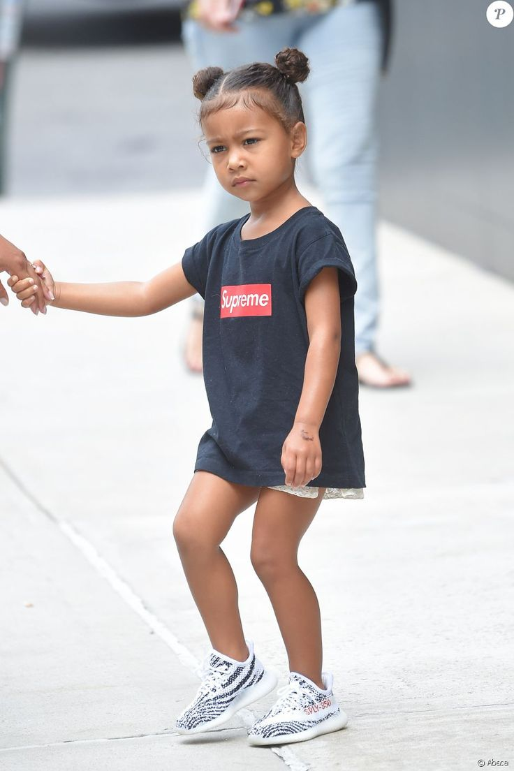 North West à New York, le 9 septembre 2016.