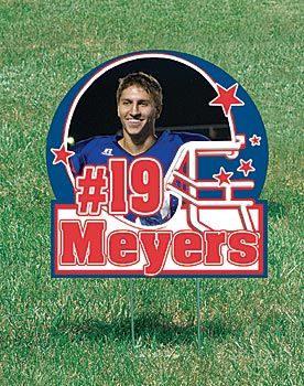 Personalize these custom yard signs with your school imprint. $8.99 ea, spiritline.com