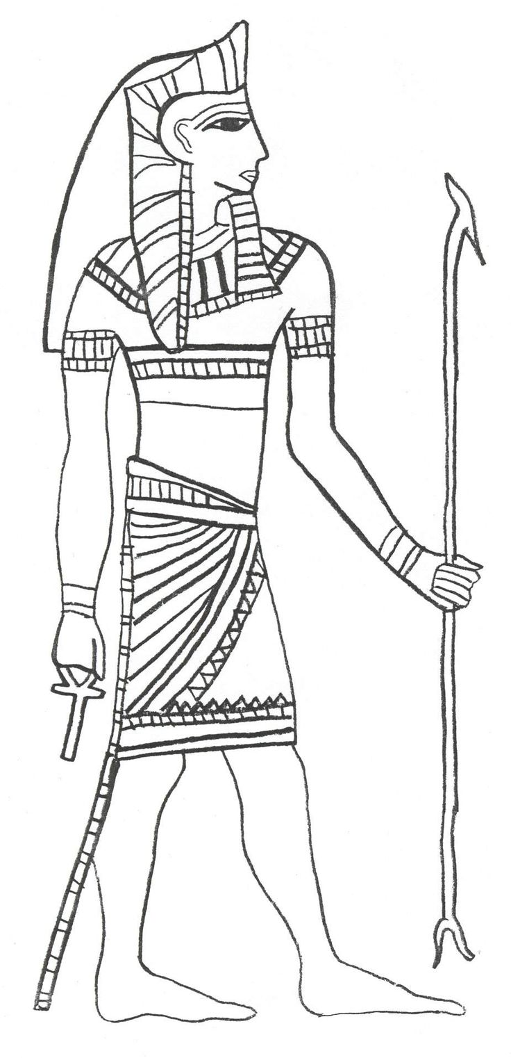 hat coloring pages ancient egypt - photo#17