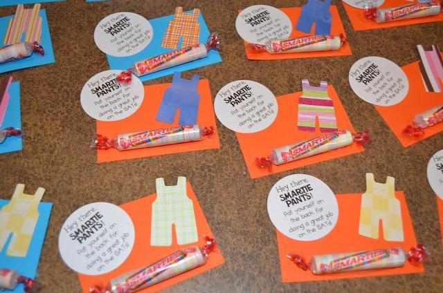 Smartie pants (freebie printable) | Test Prep | Pinterest ... Smarties Test