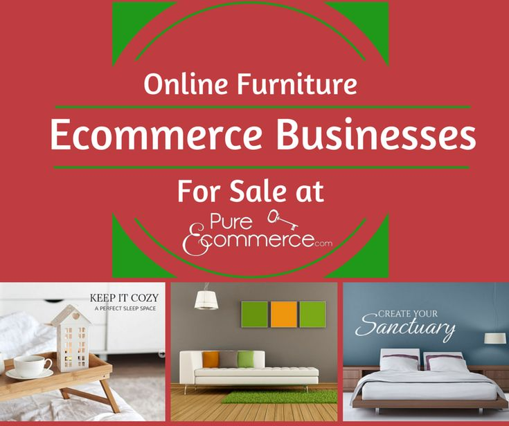 Online furniture ecommerce businesses for sale online for Sales on furniture online
