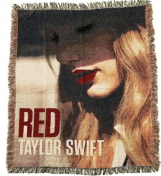 Taylor Swift: blanket from store.taylorswift.com Taylor Swift merchandise