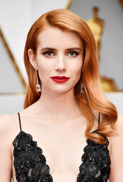 Emma Roberts at the 2017 Oscar Awards