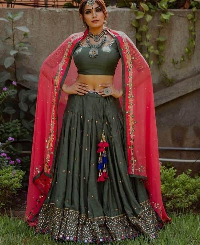 Chaniya choli girl sex women spread open