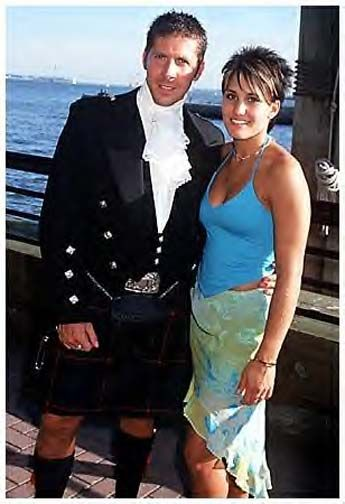 Ray Park - actor who played Darth Maul in Star Wars - Episode 1 nothing like a hot man in a kilt.