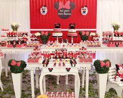 Decoração Provençal 29 - Minnie Vermelha