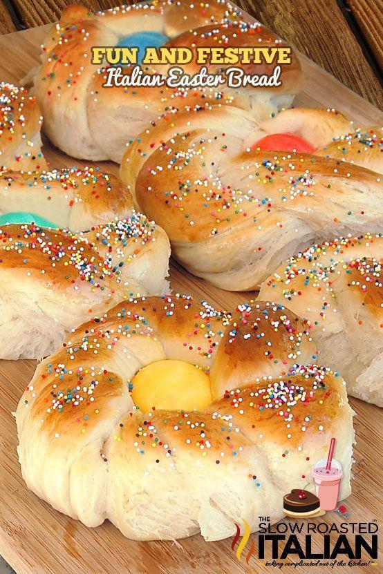 Fun & Festive Italian Easter Bread from @SlowRoasted