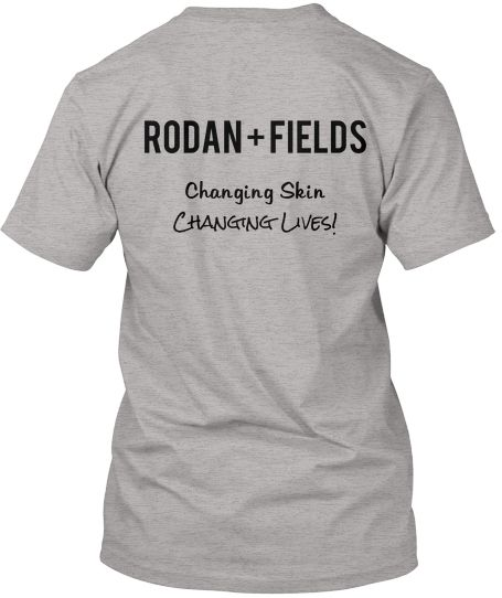 Rodan and Fields-7-1-14 is the last day to order this shirt. Other colors available. Only $12! Can't beat that price!