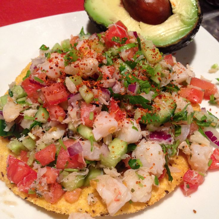 Crab & Shrimp Ceviche