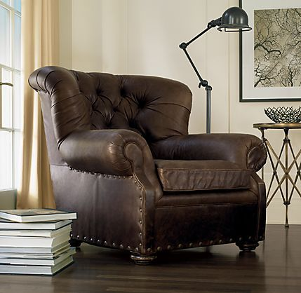 Awesome Comfy Leather Chair