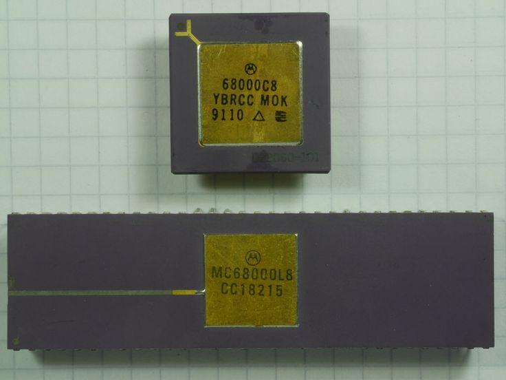 Motorola 68000 16/32 bit microprocessor (1979)