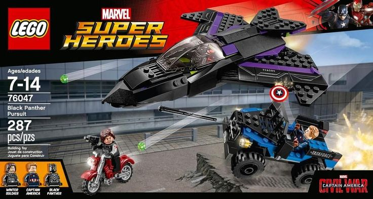 Lego - Marvel Super Heroes: Black Panther Pursuit - Multi colored