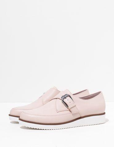 BSK buckle shoe - Shoes - Bershka United Kingdom