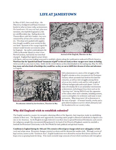 best jamestown other early settlements images here s an essay a good bit of background information on life at jamestown