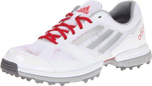 adidas Women's Adizero Sport Golf Shoe,White/Metallic Silver/Punch,5 M US adidas http://www.amazon.com/dp/B00AO1D430/ref=cm_sw_r_pi_dp_qiLbvb05NB0H3