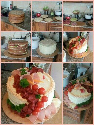 Sendwich cake... 8 kg btw :D