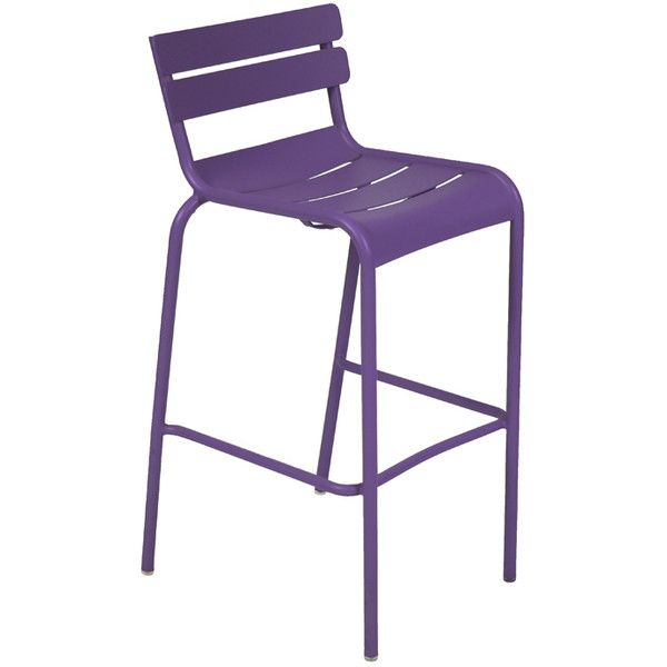 Fermob Luxembourg High Chair ($432) ❤ liked on Polyvore featuring home, outdoors, patio furniture, outdoor chairs, outdoor counter height bar stools, outdoors patio furniture, outside patio furniture, outdoor patio furniture and outside bar stools