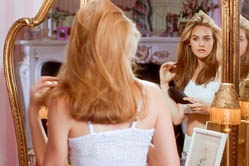 """Okay, so you're probably going, """"Is this like a Noxzema commercial or what?"""" But seriously, I actually have a way normal life for a teenage girl. - Cher Horowitz"""