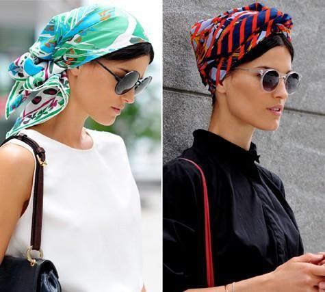Comment nouer un foulard Africain
